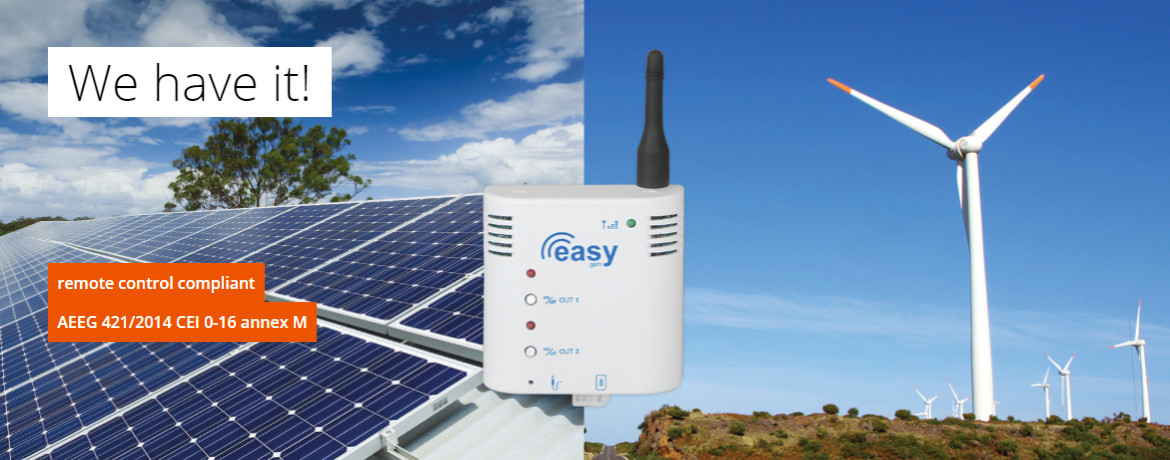 Remote control of Photovoltaic system / Wind power