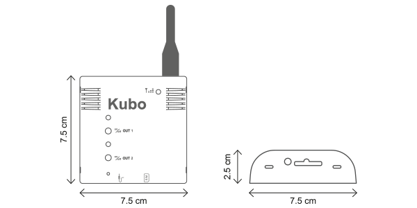 Wireless Concentrator M-Bus GSM KUBO